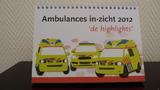 Bureaukalender Ambulances in-zicht 2012 'de highlights'